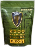 Guličky Elite Force BB 0,20 g - 2500 ks - white
