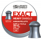 JSB Diabolo Exact Heavy kal.4.52mm; 500ks