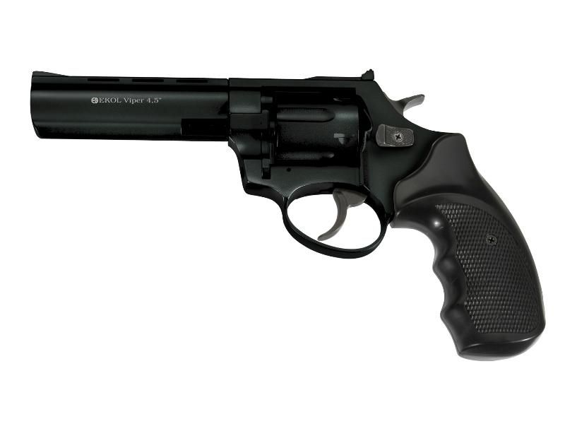 "Flobert revolver EKOL Viper 4,5"" Black 4 mm"