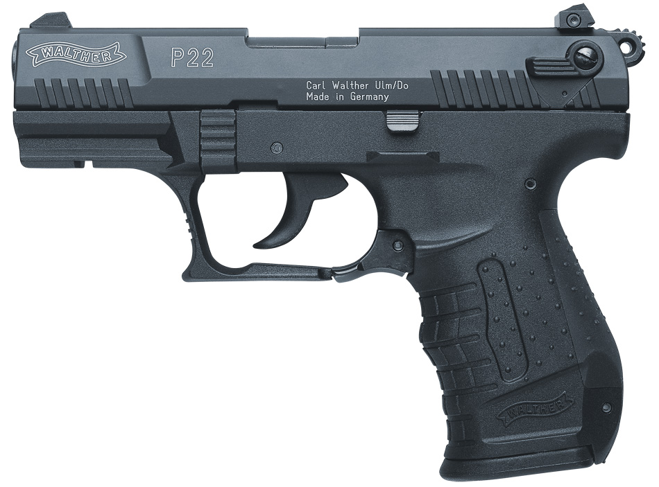 Walther P-22 9mm black