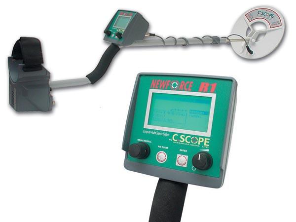 Detektor kovov CSR1