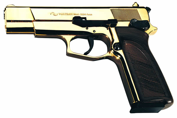 ARAS 9mm gold