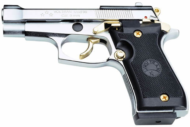Speciál M-99 9mm silver/gold