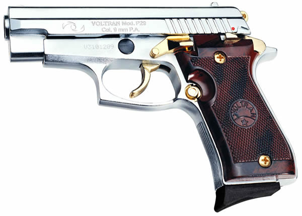 Super P-29 9mm silver/gold