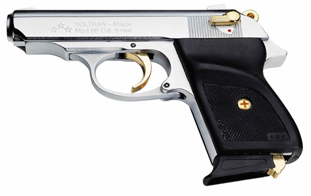 Major M-88 9mm silver/gold