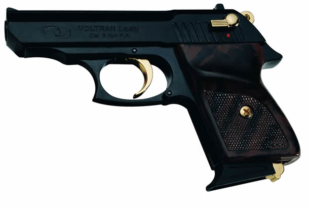 Lady 9mm black/gold