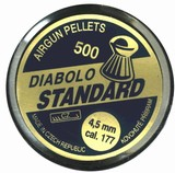 Diabolky 4,5 mm 500ks