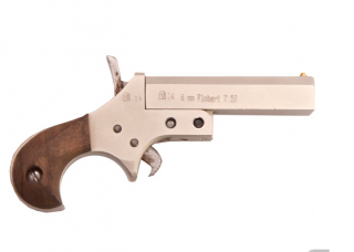 "Flobertka Derringer ELF 2,5"" kal.22, nickel"