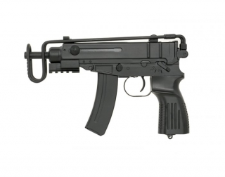 Airsoft samopal Well Scorpion VZ 61 AEG, kal. 6 mm BB
