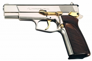 ARAS 9mm silver/gold