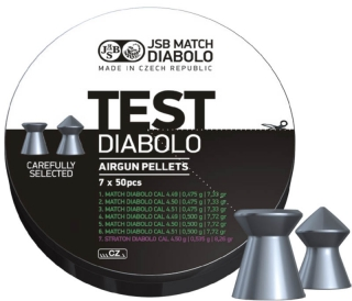 JSB Match Diabolo Test Light Weight kal.4,5mm; 350ks