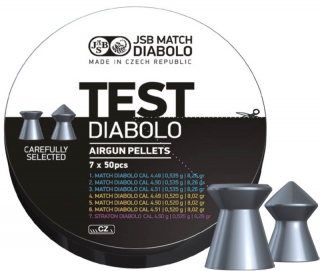 JSB Match Diabolo Test Middle Weight kal.4,5mm; 350ks