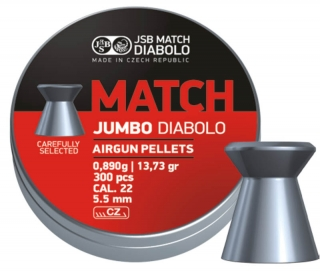 Diabolo JSB Jumbo Match 300ks kal.5,5mm