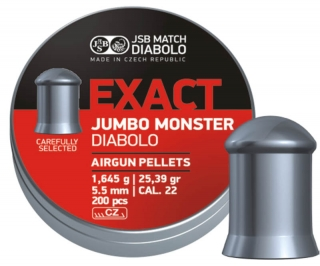 JSB Exact Jumbo Monster 200ks cal.5,52mm