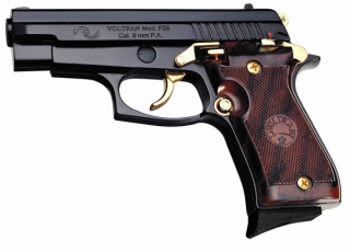 Super P-29 9mm black/gold