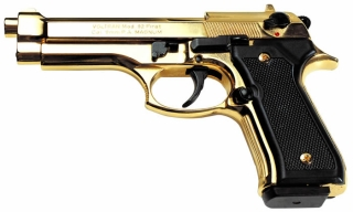 Firat-92 9mm gold